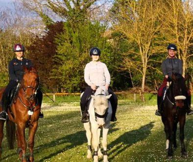 Montare a cavallo in Umbria